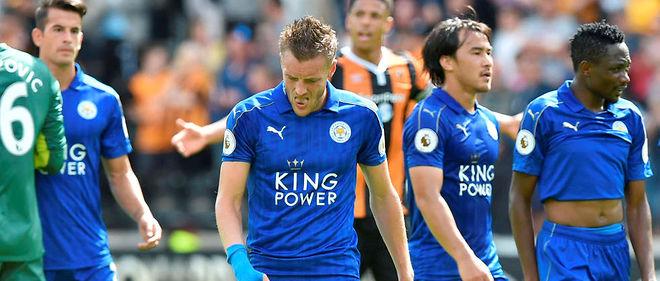 Les champions de Leicester ont perdu lors du match d'ouverture de la saison 2016-2017