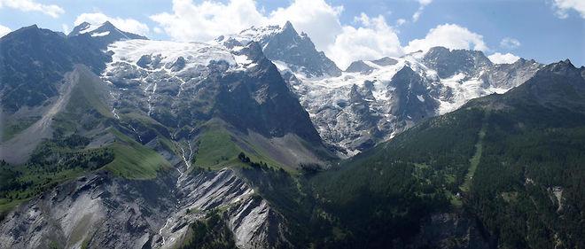 Une photo de la montagne de la Meije prise en août 2015 (Photo d'illustration).
