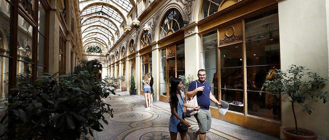 La galerie Vivienne a été construite dans la première moitié du XIXe siècle. Image d'illustration.