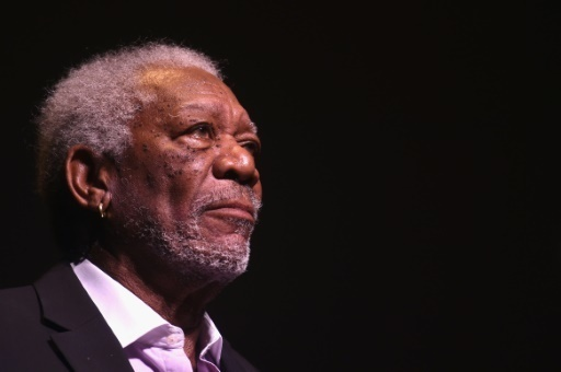 L'acteur americain Morgan Freeman le 25 avril 2016 a New York