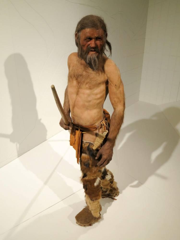 Ötzi the Iceman © Markus C. Hurek AFP