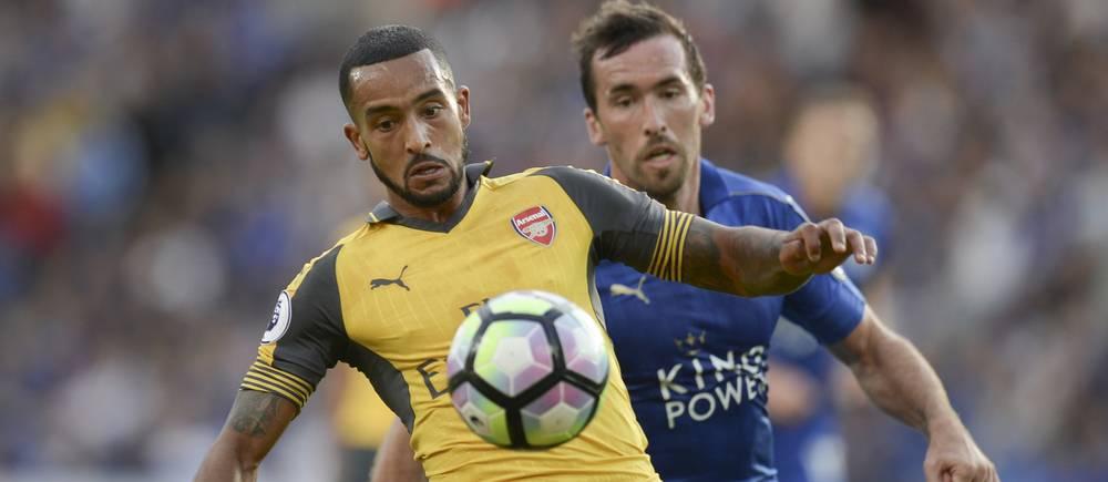 Theo Walcott et Arsenal n'ont pas réussi à faire la différence sur la pelouse du champion en titre.