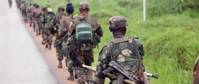 Des soldats des Forces armées de RDC alors qu'ils partent pour combattre les rebelles ougandais des ADF en décembre 2013. (Photo d'illustration)