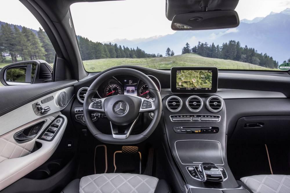 Mercedes-Benz GLC 350 e Coupé © Daimler AGGlobal Communications Mercedes Benz Cars DAIMLER