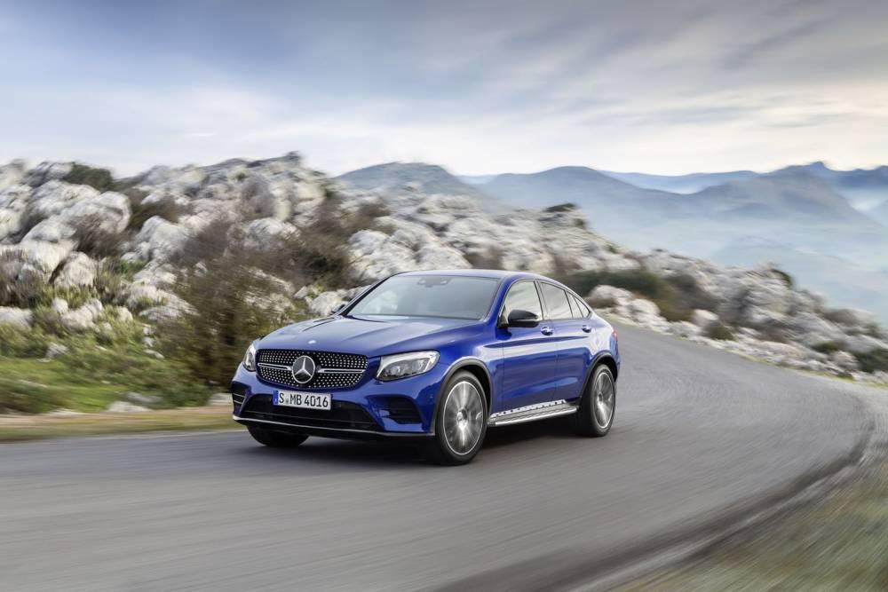 Start frei für das Mercedes-Benz GLC Coupé © Daimler AG - Global Communications Mercedes-Benz Cars DAIMLER