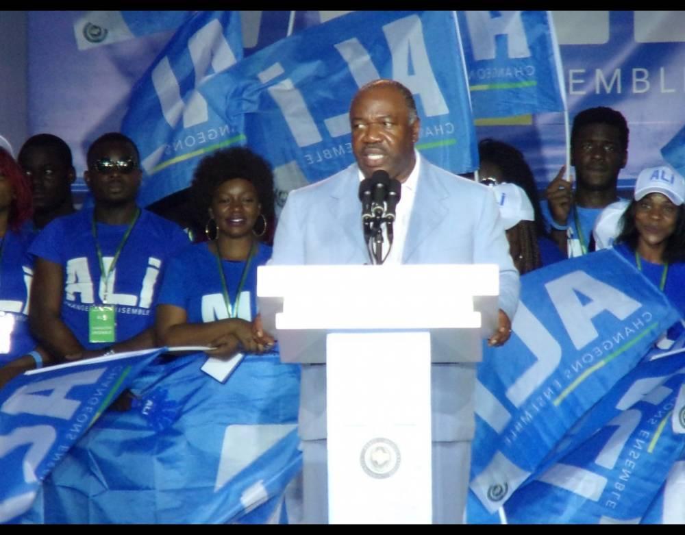 ABO pendant un discours lors de la campagne pour la présidentielle du 27 août 2016. ©  DR