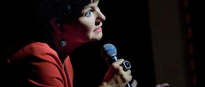 Maurane au Francofolies le 21 juillet 2012. La chanteuse ne pourra pas participer au festival de Montreux en décembre.