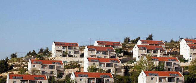La colonie israélienne d'Ofarim, en Cisjordanie.