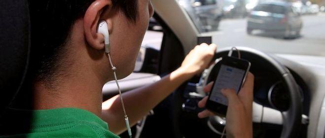 Au moins un accident sur dix est dû à une inattention du conducteur ou de la conductrice provoquée par son téléphone portable.