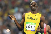Usain Bolt, à Rio, le 17 août 2016. ©Johannes Eisele
