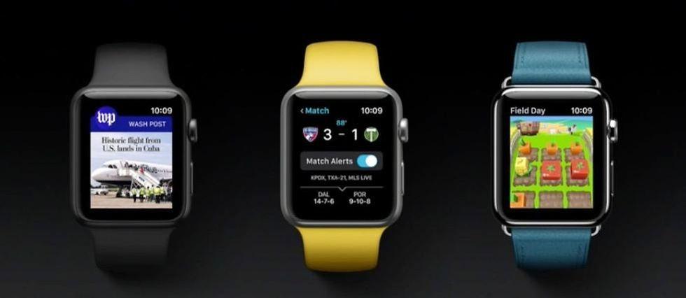 Pas question de se passer véritablement de l'iPhone, pour l'Apple Watch Series 2...