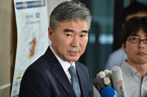 Sung Kim, représentant spécial pour la Corée du Nord au sein du Département d'Etat, en visite le 11 septembre 2016 à Tokyo © KAZUHIRO NOGI AFP