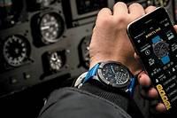 La première montre connectée destinée aux pilotes, signée Breitling.