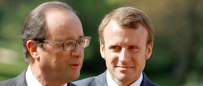 S'ils sont tous les deux candidats, ni François Hollande ni son ex-ministre Emmanuel Macron n'iront au second tour de l'élection présidentielle, selon un sondage Ifop.