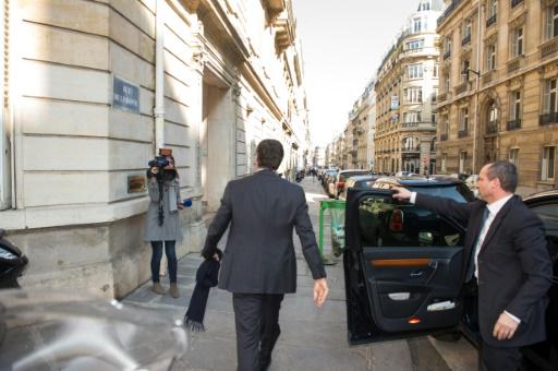 Jérôme Cahuzac arrive au pôle financier du TGI de Paris, le 2 avril 2013 © MARTIN BUREAU AFP/Archives