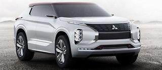 Mitsubishi GT-PHEV Concept.