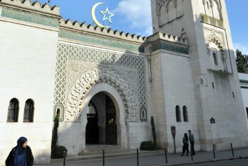 La Grande mosquée de Paris,le 19 mars 2012  © MEHDI FEDOUACH AFP