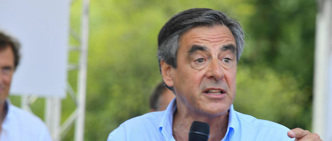 Francois Fillon a attaque Marine Le Pen et le Front national.