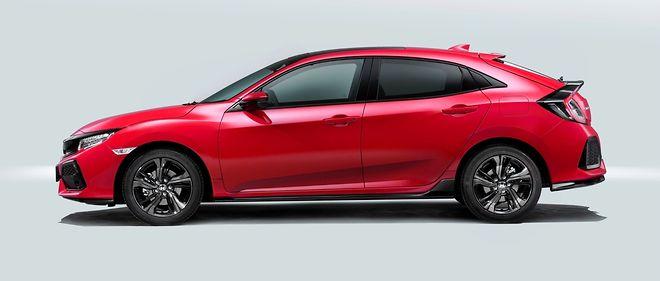 La nouvelle Honda Civic est la plus grande berline compacte du moment à 4,50 m.