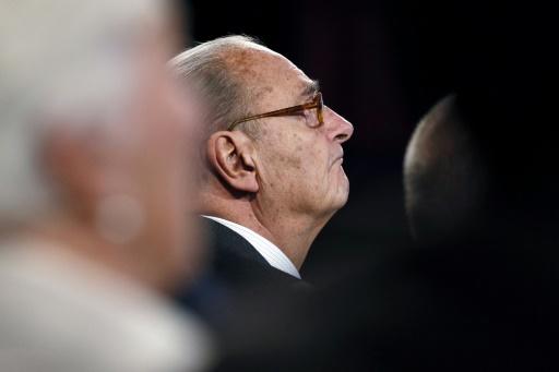 L'ancien président Jacques Chirac, le 21 novembre 2014 au musée du Quai Branly à Paris © PATRICK KOVARIK POOL/AFP/Archives