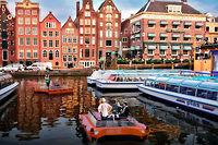 Les premiers Roboats doivent s'installer à Amsterdam courant 2017.