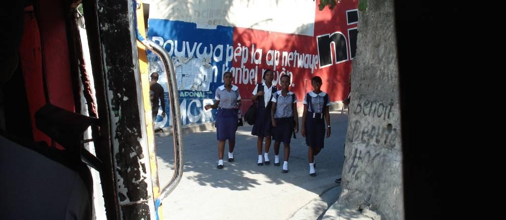 Haïti : archives du Festival Quatre Chemins de Port-au-Prince. ©  Patrick Fabre