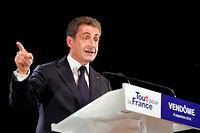 Nicolas Sarkozy n'a jamais été mis en examen dans le dossier Air Cocaïne. Il reste, par contre, renvoyé devant le tribunal correctionnel dans l'affaire Bygmalion. ©GUILLAUME SOUVANT
