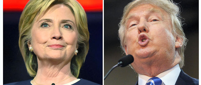 Hillary Clinton, démocrate, et Donald Trump, républicain, se disputent la place de 45e président des Etats-Unis.