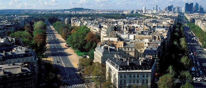 L'avenue Foch, dans le 16e arrondissement de Paris.