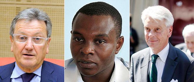 François Pillet (sénateur du Cher), Thani Mohamed Soilihi (sénateur de Mayotte) et Alain Richard (sénateur du Val-d'Oise).