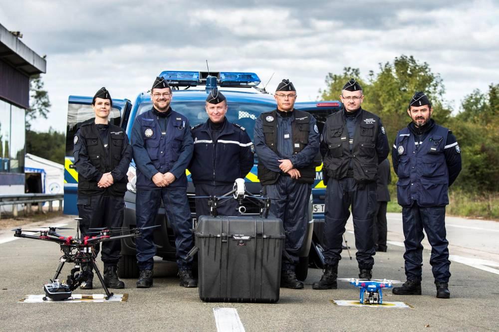 demo moyens matériels et humains de la gendarmerie à la délé © fabrice balsamo DR