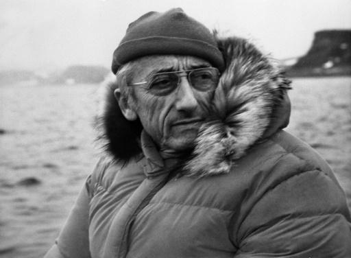 Le Commandant Cousteau en 1972 en Antarctique, restera administrateur d'Aqua Lung jusqu'à son décès mais absorbé par le financement de ses films et de ses expéditions, c'est Air Liquide qui soutiendra l'expansion et les innovations. © - AFP/Archives