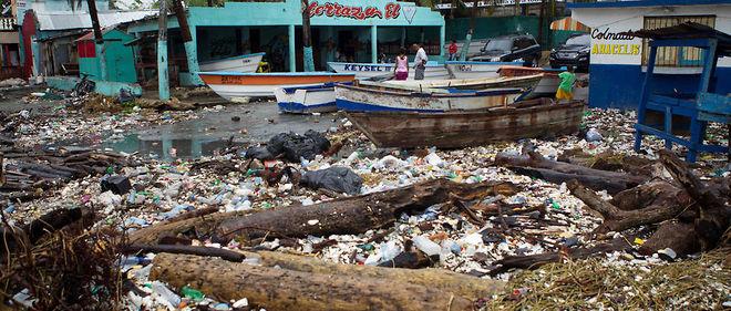 Haïti a été durement touché par le passage de l'ouragan.