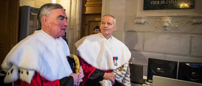 Bertrand Louvel et Jean-Claude Marin ont été reçus pendant vingt minutes à l'Élysée.