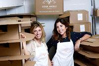 Charlotte Sieradzki et Joy Solal, cofondatrices de Cook Angels. ©Xavier Popy/REA