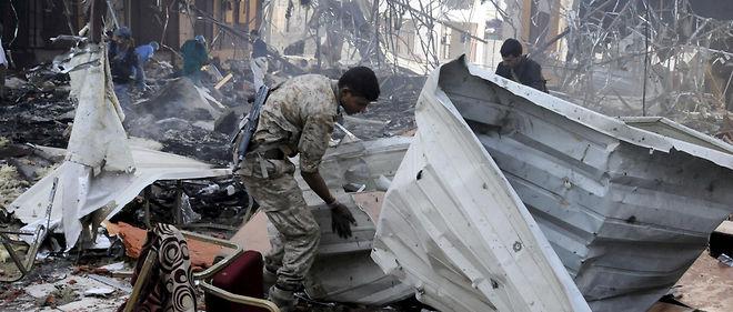 Sanaa, 8 octobre 2016, après un raid aérien meurtrier.