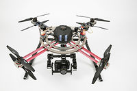 Un drone signé Pilgrim Technology.