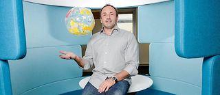 Ludovic le Moan, PDG de Sigfox. ©Lydie LECARPENTIER/REA