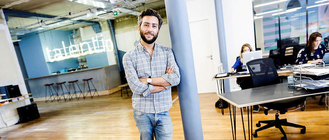 Jonathan Azoulay, fondateur et PDG de Talent.io