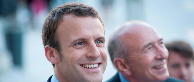 Emmanuel Macron a trouvé chez Gérard Collomb son meilleur soutien.