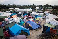 La jungle de Calais, en septembre 2016. Alain Juppé s'y est rendu en janvier 2016. ©Rodrigo Avellaneda