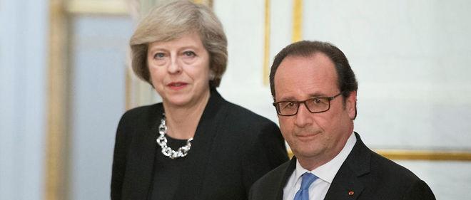 """""""Je suis ici avec un message très clair : le Royaume-Uni quitte l'Union européenne, mais nous allons continuer à jouer pleinement notre rôle jusqu'à ce que nous partions"""", a assuré Theresa May."""