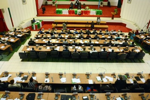 L'Assemblée nationale du Burundi réunie en session pour le retrait de la CPI, le 12 octobre 2016 à Bujumbura © ONESPHORE NIBIGIRA AFP/Archives