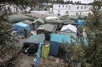 La jungle de Calais va être démantelée à partir de lundi, 8 heures. ©PHILIPPE HUGUEN
