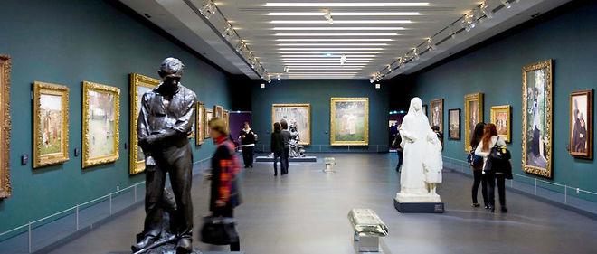 Intérieur du musée d'Orsay.