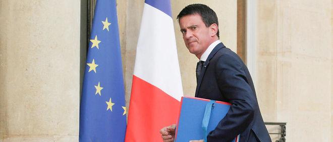 Manuel Valls à l'Élysée le 27 juillet 2016.