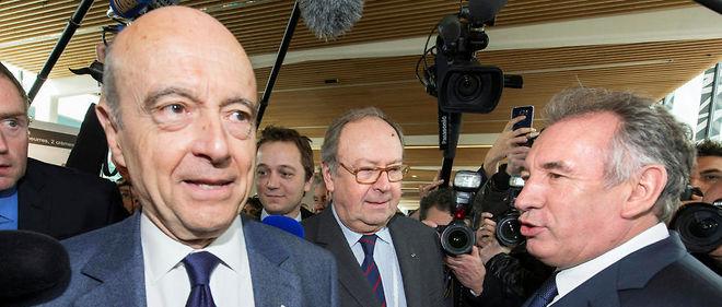 François Bayrou a annoncé depuis plusieurs semaines son soutien à Alain Juppé.