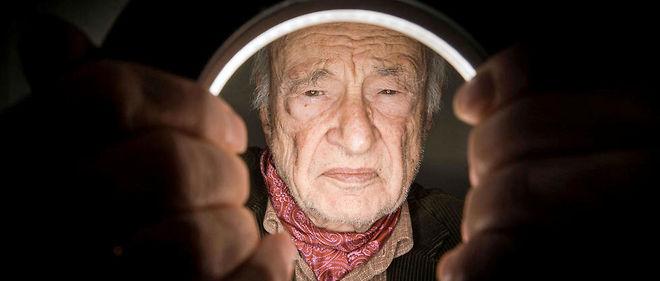 """Sage. Pour le philosophe et sociologue Edgar Morin, 95 ans (ici, en janvier), """"l'être humain n'est pas une marchine triviale""""."""