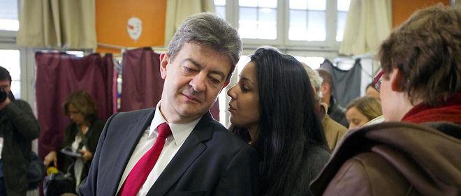 Sophia Chikirou et Jean-Luc Mélenchon en 2012.