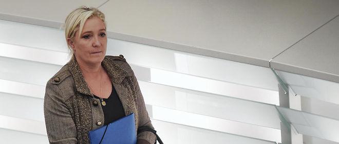 Marine Le Pen siège au Parlement européen depuis 2004.